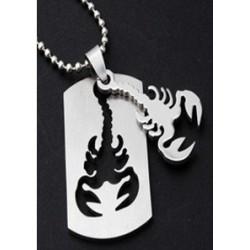 """Plieninis zodiako pakabukas """"Skorpionas"""""""