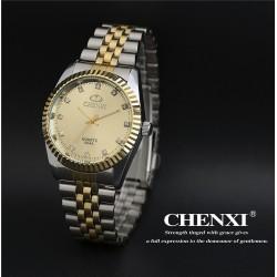 Geltonas vyriškas laikrodis