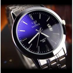 Mėlynas vyriškas laikrodis Yazole
