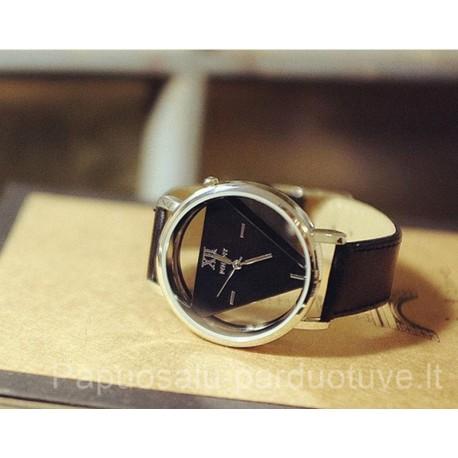 Juodas moteriškas laikrodis Wilon