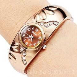 Aukso spalvos laikrodis - apyrankė