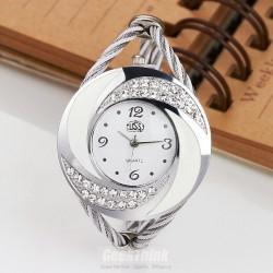 """Aukso spalvos laikrodis - apyrankė """"833"""""""