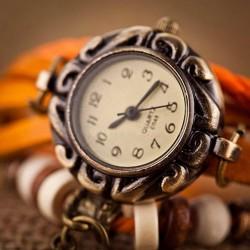 """Vintažinis laikrodis """"Vasara"""" su žvaigždute"""