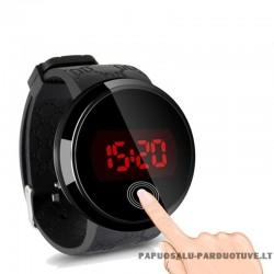 Elektroninis laikrodis liečiamu ekranu