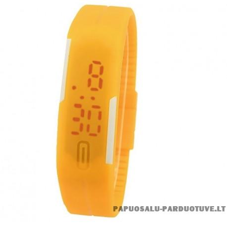 """Geltonas laikrodis """"LK1235"""""""