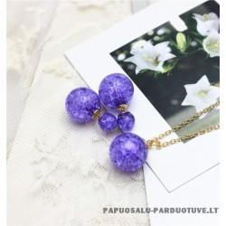 """Papuošalų rinkinys """"Violetinis"""""""