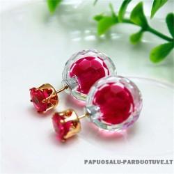 """Rožiniai auskarai """"AU1252"""""""
