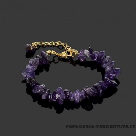 """Violetinės spalvos apyrankė """"APR1270"""""""