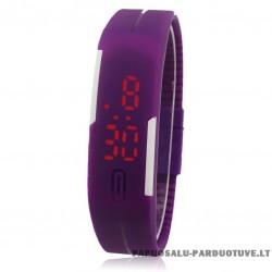 """Silikoninis laikrodis sportui """"Violetinis"""""""