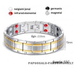 Apyrankė su magnetų ir germanio elemetais ID1695